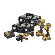 Lot 3 outils XR 18 V 5 ah
