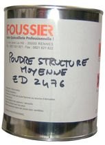 Poudre structure moyenne