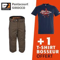 Lot 1 pantacourt sirocco + 1 tee-shirt offert