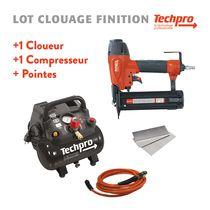 Lot clouage finition Techpro