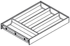 AMBIA-LINE design acier - hauteur M et K