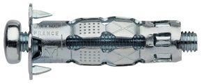Chevilles métalliques pour corps creux et pinces