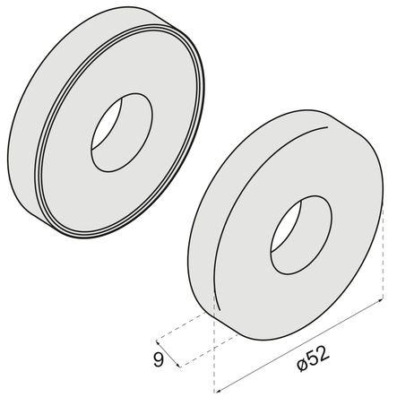 Rosace ronde R92 et S80