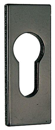 Rosace de cylindre adhésive rectangulaire