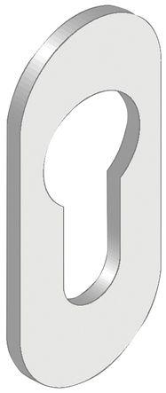Entrée de cylindre ovale auto adhésive