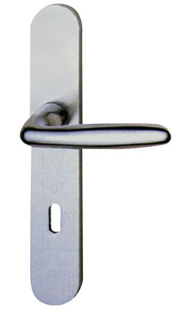 Ensemble VERONA sur plaques 195, aluminium anodisé