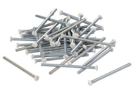 Vis métaux TFB 4x60 mm - Nickelé